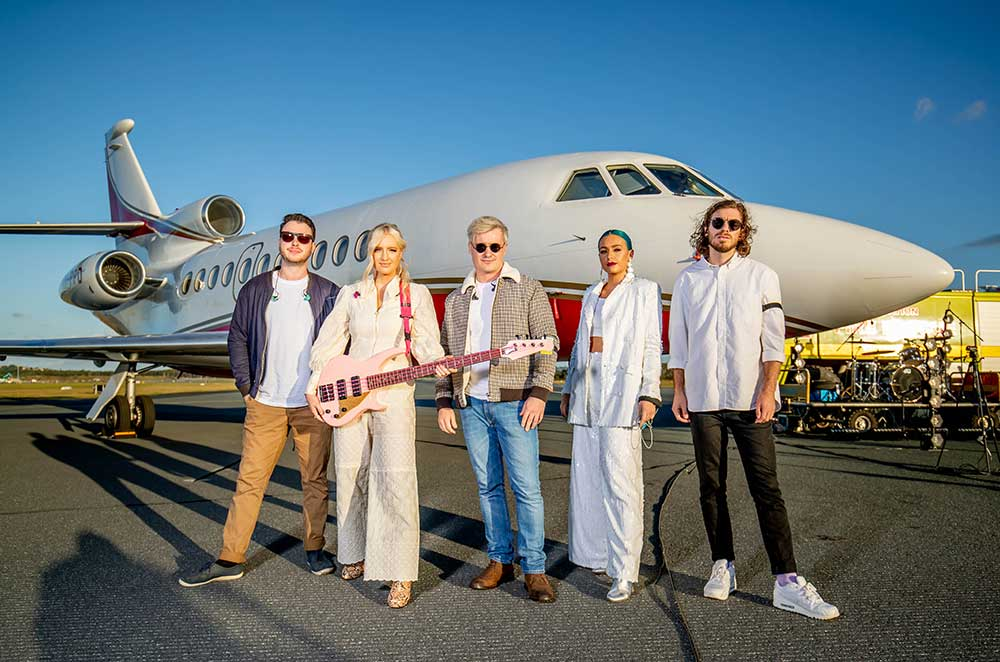 How to turn a Gold Coast airport runway into a concert venue